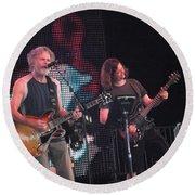 Bob Weir And John K. - Furthur Round Beach Towel