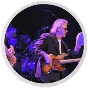 Bob Seger-chris-mark-6105 Round Beach Towel