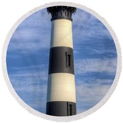 Bodie Island Lighthouse II 2015 Round Beach Towel