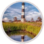 Bodie Reflection Round Beach Towel
