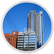 Boeing Chicago Round Beach Towel