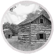 Bohls Cabins At Bee Cave V I Round Beach Towel