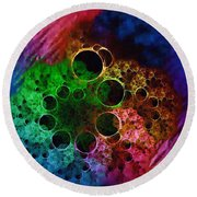 Boil And Bubble Round Beach Towel