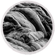 Boiled Boulders Round Beach Towel