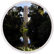 Bok Tower Gardens Round Beach Towel