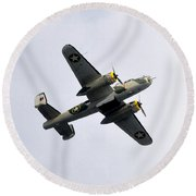 Bombs Away Round Beach Towel