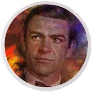 Bond - James Bond Round Beach Towel