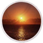 Bondi Beach Sunrise Round Beach Towel