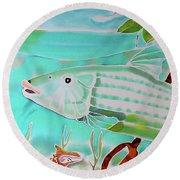 Bonefish Round Beach Towel