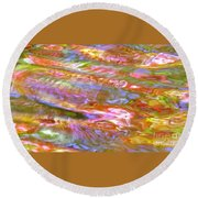 Beautiful Bones Round Beach Towel