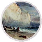 Bonington, Cliff, 1828 Round Beach Towel