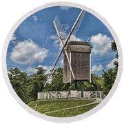 Bonne Chiere Windmill Round Beach Towel