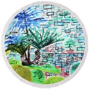 Bonsai And Penjing Museum 4 201734 Round Beach Towel