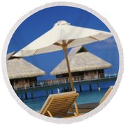 Bora Bora, Beach Round Beach Towel