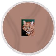 Boris Round Beach Towel