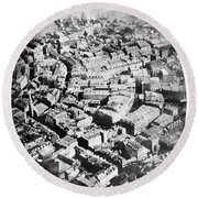 Boston 1860 Round Beach Towel