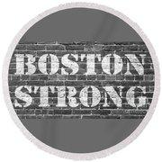 Boston Strong Round Beach Towel