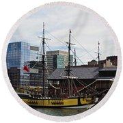 Boston Tea Party 14bos045 Round Beach Towel