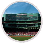 Boston's Gem Round Beach Towel by Paul Mangold