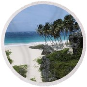 Bottom Bay Round Beach Towel