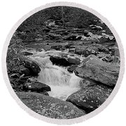 Boulder Creek Round Beach Towel