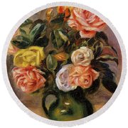 Bouquet Of Roses 2 Round Beach Towel