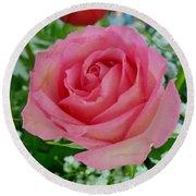Bouquet Rose Round Beach Towel