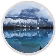 Bow Valley Storm Round Beach Towel