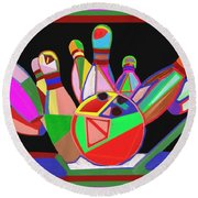 Bowling Sports Fans Decoration Acrylic Fineart By Navinjoshi At Fineartamerica.com  Down Load  Jpg F Round Beach Towel