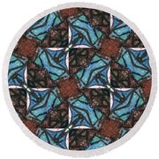 Box Of Chocolates Round Beach Towel