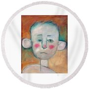 Boy Round Beach Towel