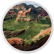 Boynton Canyon 05-942 Round Beach Towel