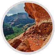Boynton Canyon 08-174 Round Beach Towel