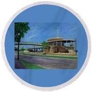 Bradford Beach House Round Beach Towel