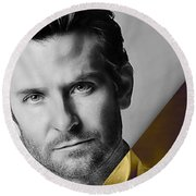 Bradley Cooper Collection Round Beach Towel