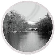 Brandywine Creek  Round Beach Towel