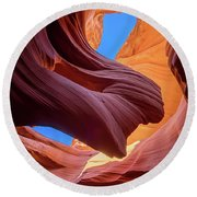 Breeze Of Sandstone Round Beach Towel