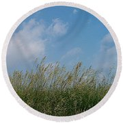 Breezy Day Round Beach Towel