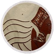 Bride 10 - Tile Round Beach Towel