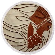 Bride 11 - Tile Round Beach Towel