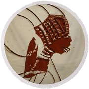 Bride 4  - Tile Round Beach Towel