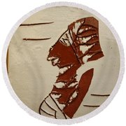 Bride 5 - Tile Round Beach Towel