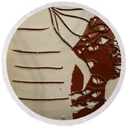 Bride 8 - Tile Round Beach Towel