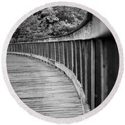 Bridge At Calloway II Round Beach Towel