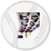 Bridge To Eternity Round Beach Towel