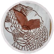 Bridged - Tile Round Beach Towel