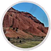 Bridger-teton National Forest Round Beach Towel