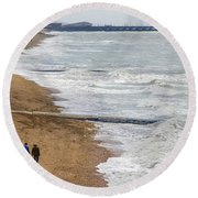 Brighton Shore Round Beach Towel