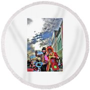 Bring Out The Clowns Round Beach Towel