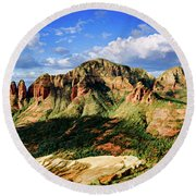 Brins Ridge 04-099pan Round Beach Towel